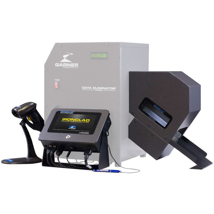 Garner HD-3WXL IRONCLAD Secure Image Capture System Without Degausser
