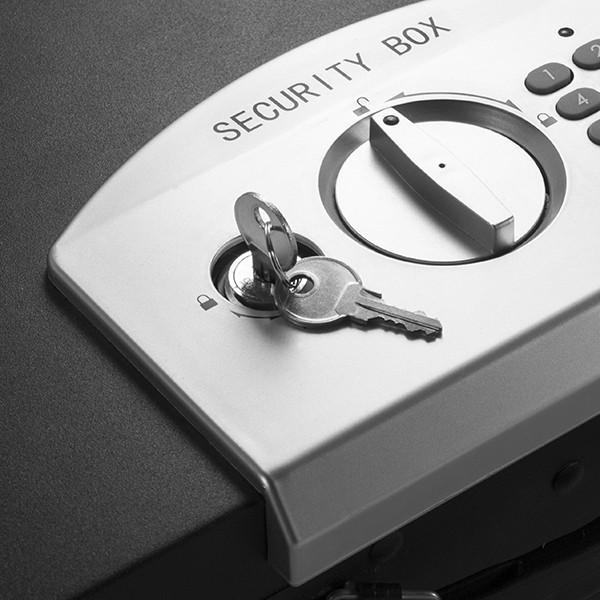 barska ax11910 digital portable keypad safe lock box. Black Bedroom Furniture Sets. Home Design Ideas