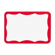 business source 26465 name badge label