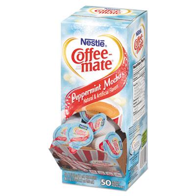 Coffee Mate 76060 Peppermint Mocha Creamer 0 375oz 50 Box