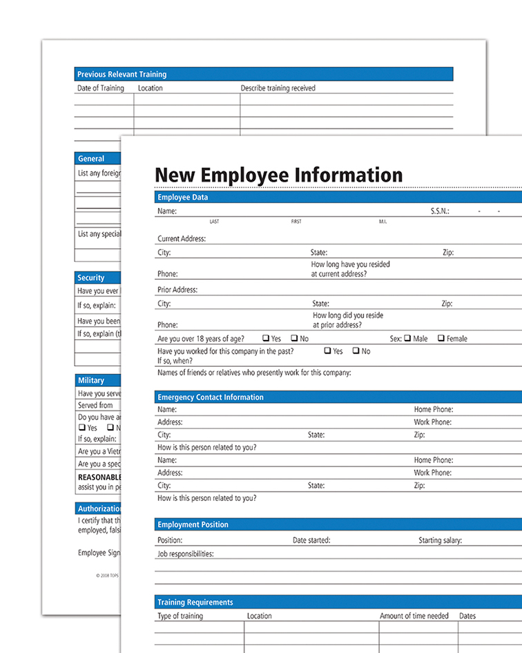LSC Communications abfHR117 Forms, EA