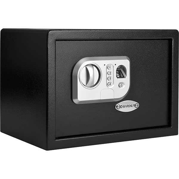barska ax11644 compact biometric keypad safe. Black Bedroom Furniture Sets. Home Design Ideas