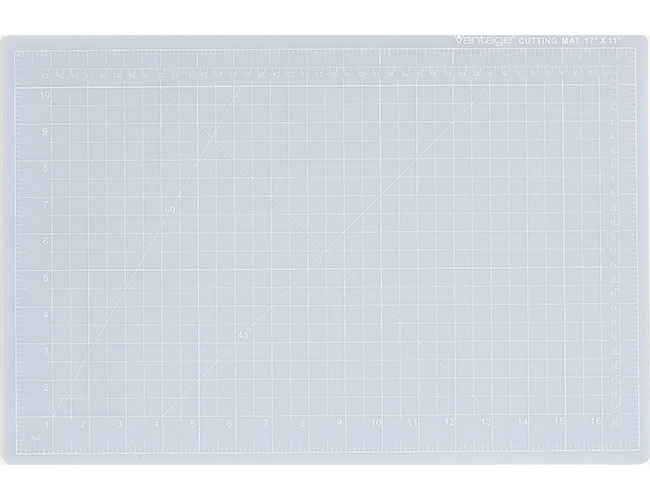 Dahle 10680 Vantage Self Healing Cutting Mat Crystal Clear
