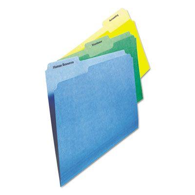 Avery Clear File Folder Labels 1//3 Cut 2//3 x 3 7//16 450//Pack 5029
