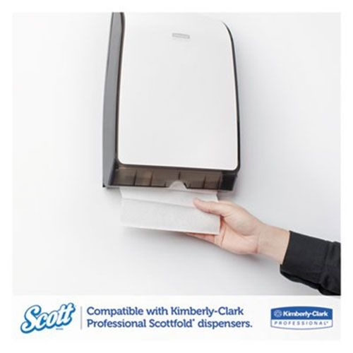 Scott 01960 SCOTTFOLD Paper Towels  7 4//5 x 12 2//5  White  175 Towels//Pack  25