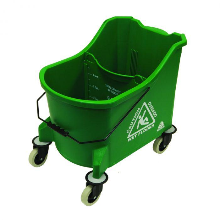 O Cedar Commercial 971 36 Qt Maxiplus Mop Bucket Green Cs