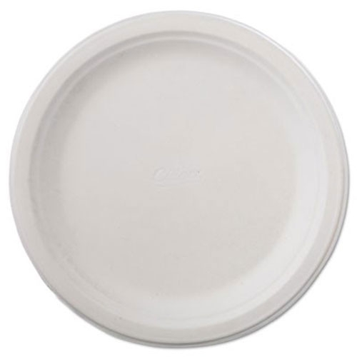 "Chinet Classic White Molded Fiber Plates 6 3//4/"" White 125//Pack 8 Pack//Carton"