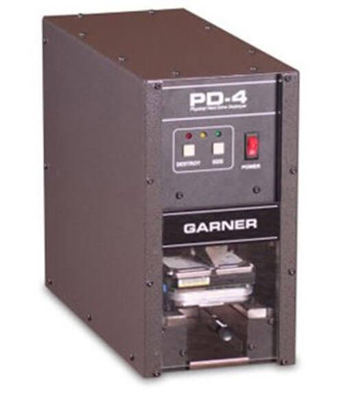 Garner Pd 4 Hard Drive Physical Destroyer
