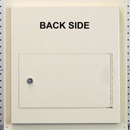 Protex Wds 311 Dd Through The Wall Dual Door Drop Box Safe