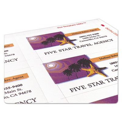 Avery 5881 print to the edge microperf business cards color laser business cards color laser zoom reheart Image collections