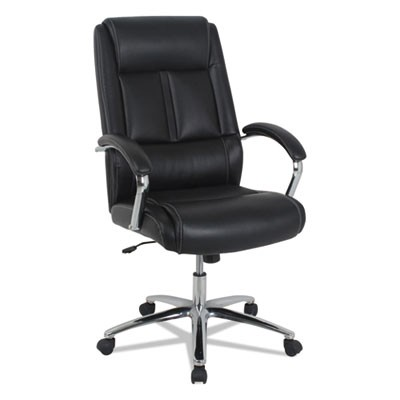 Kathy Ireland OFFICE By Alera KA34119 High Back Executive Office Chair,  Black Seat, 275lb Capacity