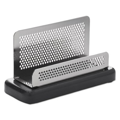 Rolodex e23578 distinctions business card holder capacity 50 2 14 rolodex e23578 distinctions business card holder capacity 50 2 14 x 4 cards metalblack colourmoves