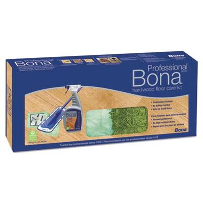 Bona Wm710013398 Hardwood Floor Care Kit 15 Head 52 Handle Blue