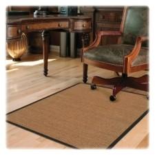 Etonnant Deflect O CM23242CBS Harbour Pointe Color Band Sisal Decorative Chairmat  For Hard Floors