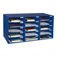 Pacon Classroom Keepers Classroom Mailbox - Blue PAC001309 10 Compartment s