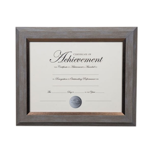 DAX N16982NT 2-Tone Document Frame, Plastic, 8.5\