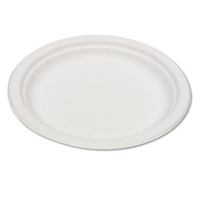 Eco-Products EPP016 Compostable Sugarcane Dinnerware 6  Plate Natural White 1000/Carton  sc 1 st  Supply Chimp & Eco-Products EPP016 Compostable Sugarcane Dinnerware 6