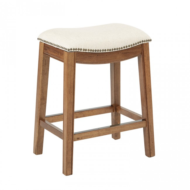 Office Star Sb537 L32 Ave Six Austin Barstool White Ea