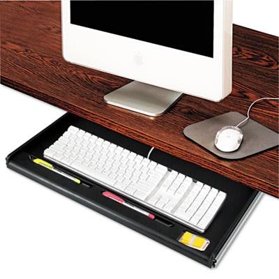 Innovera 53010 Standard Underdesk Keyboard Drawer 21 3//8w x 12 7//8d Black