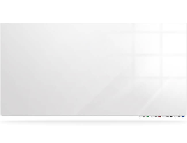ghent aria ariasm54wh glass magnetic whiteboard 5x4 white vertical - Magnetic White Board
