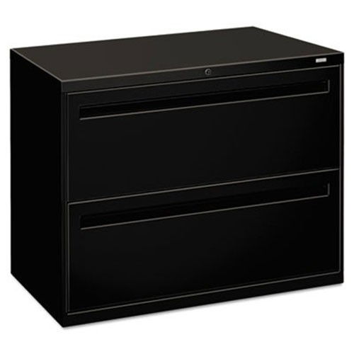 Hon 782lp 700 Series Two Drawer Lateral File 36w X 19 1 4d Black