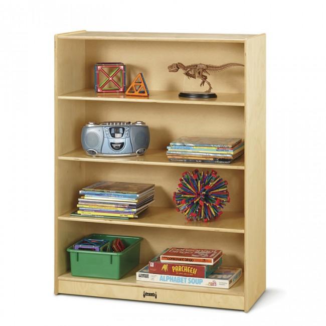 Jonti Craft 5229JC Tall Staight Shelf Bookcase Fixed EA