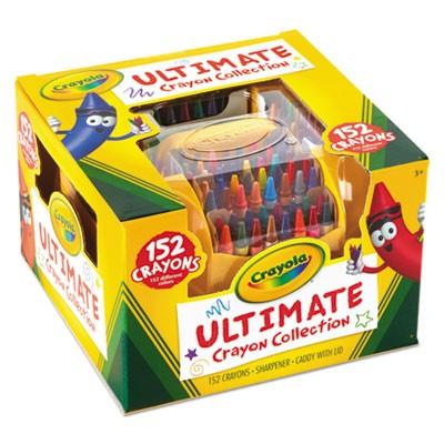crayola 520030 ultimate crayon case sharpener caddy 152 colors
