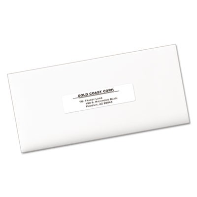 Avery 5261 Easy Peel Mailing Address Labels Laser 1 X 4 White