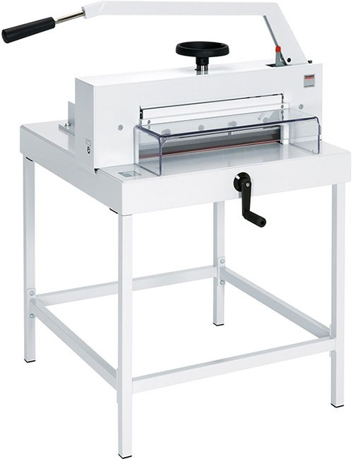 stack paper cutter 12 guillotine stack paper cutter $10699 $19999 the hfs 12 guillotine paper cutter is a commercial grade trimmer capable of cutting up to 400 sheets in a single pass.