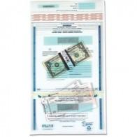 Two Keys MMF Industries 2330981W08 Seven-Pin Security//Night Deposit Bag 11 x 8 1//2 Navy Nylon