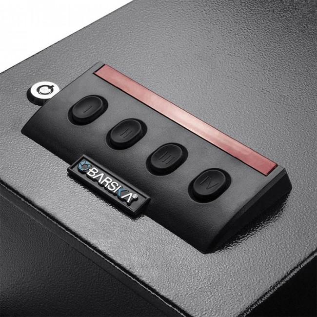 barska ax12432 electric keypad front open portable safe. Black Bedroom Furniture Sets. Home Design Ideas